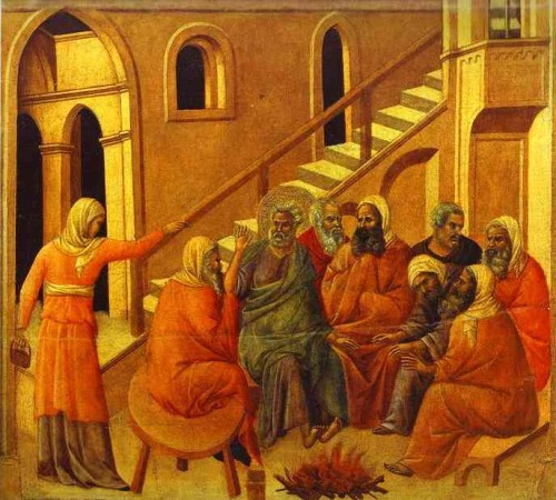 Duccio_di_Buoninsegna._Maesta_back_central_panel_St._Peter_First_Denying_Jesus._1308-11._Tempera_on_wood_panel._Museo_dell_Opera_del_Duomo_Siena_Italy.jpeg.jpg