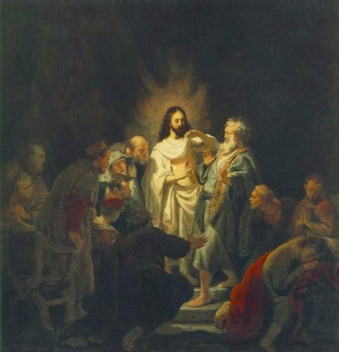 thomas,apôtre,incrédulité,croire et voir,je ne crois que ce que je vois,résurrection,foi,évangile de jean,quatrième évangile,caravage,caravaggio,apparitions